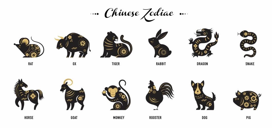 Djuren inom den kinesiska zodiaken
