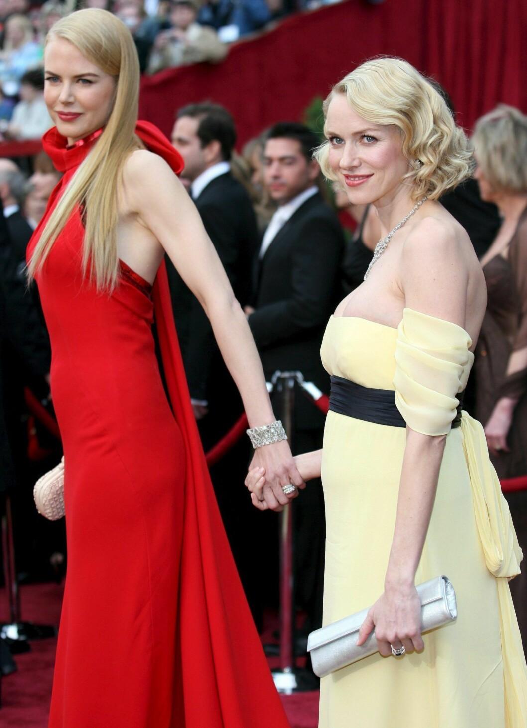Nicole Kidman och Naomi Watts lärde känna varandra i gymnasiet.