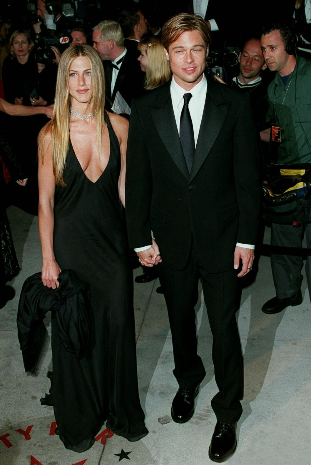 Spana in Jennifer Aniston och Brad Pitts bästa stilögonblick från 00-talet: