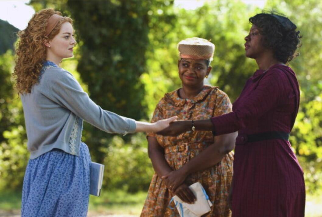 Emma Stone, Octavia Spencer och Viola Davis i The Help.