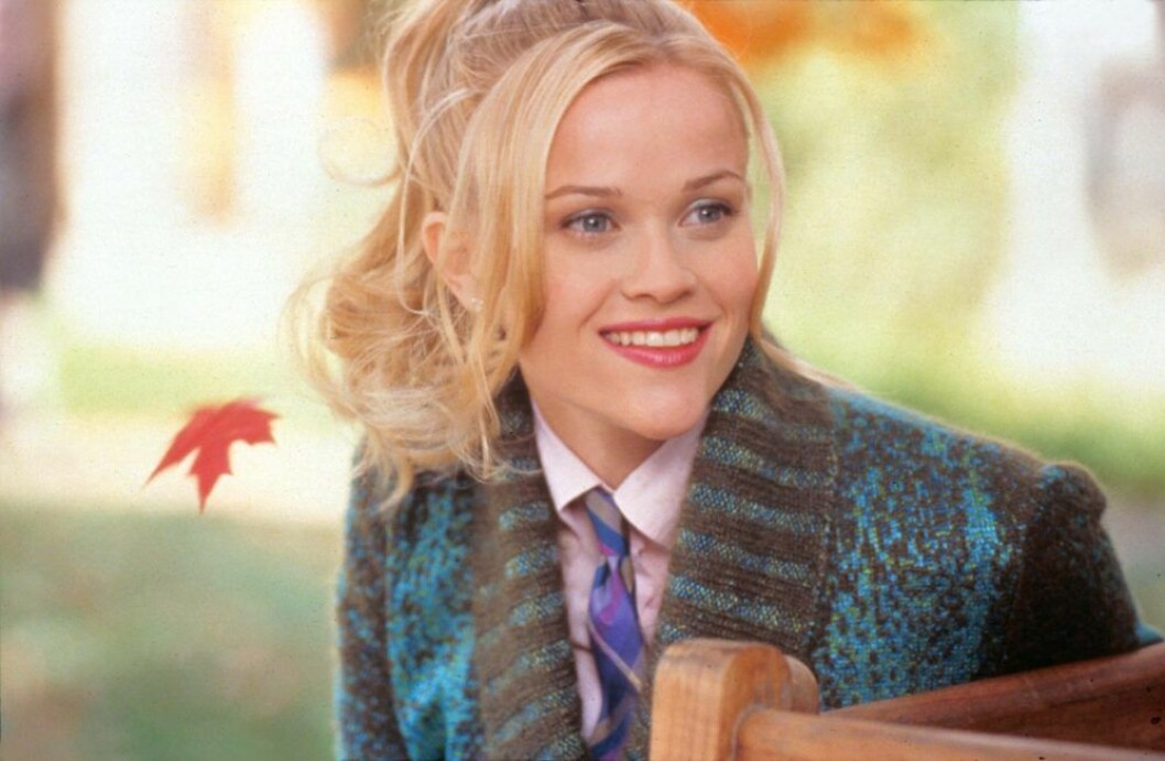 Reese Witherspoon som Elle Woods i Legally Blonde.
