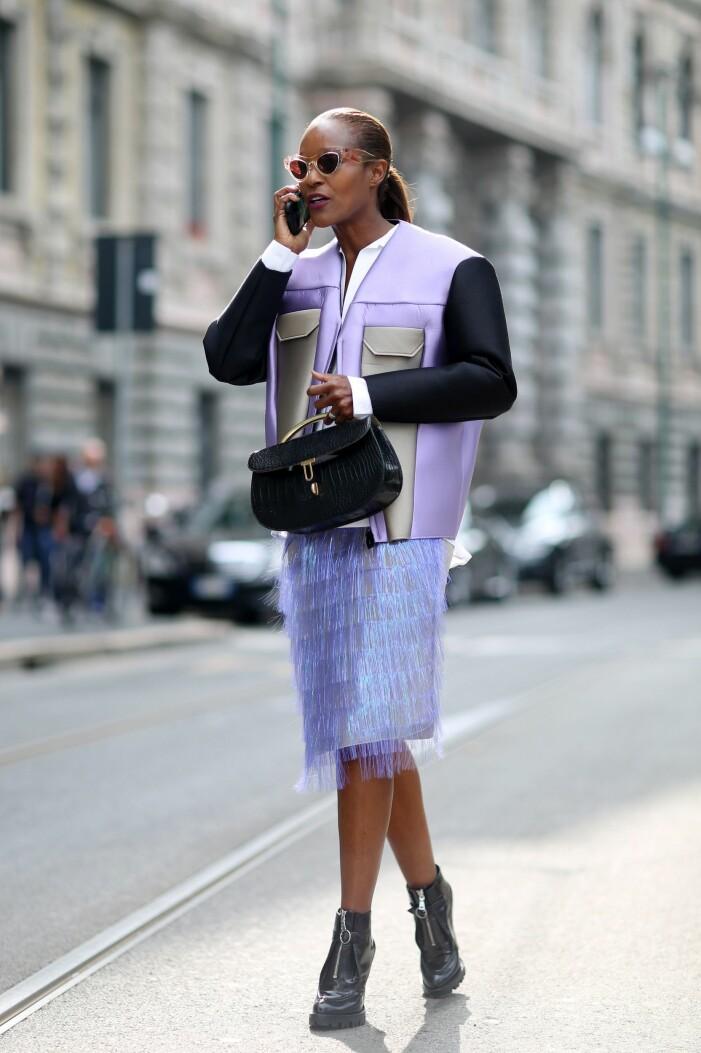 streetstyle från Milanos modevecka