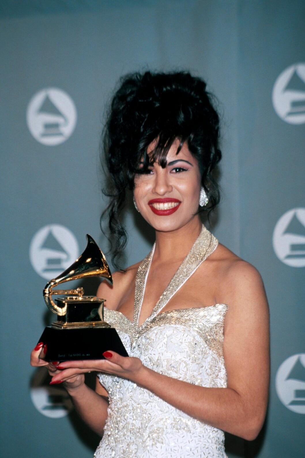 Selena Quintanilla Grammys 1993
