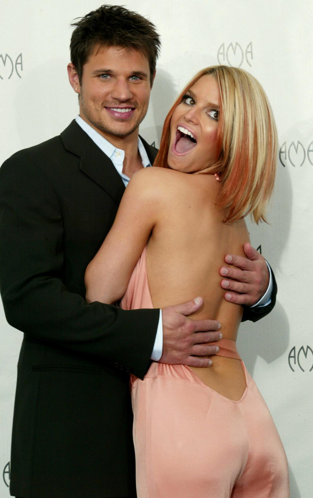 Nick Lachey och Jessica Simpson