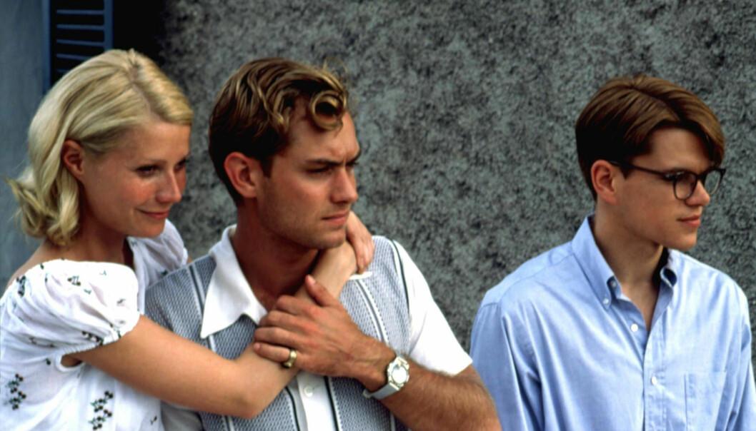 Matt Damon, Jude Law och Gwyneth Paltrow i The Talented Mr. Ripley
