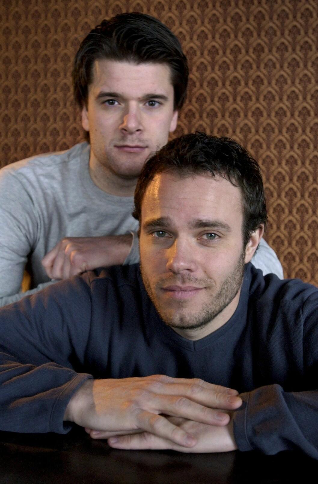 David Hellenius och Peter Magnusson