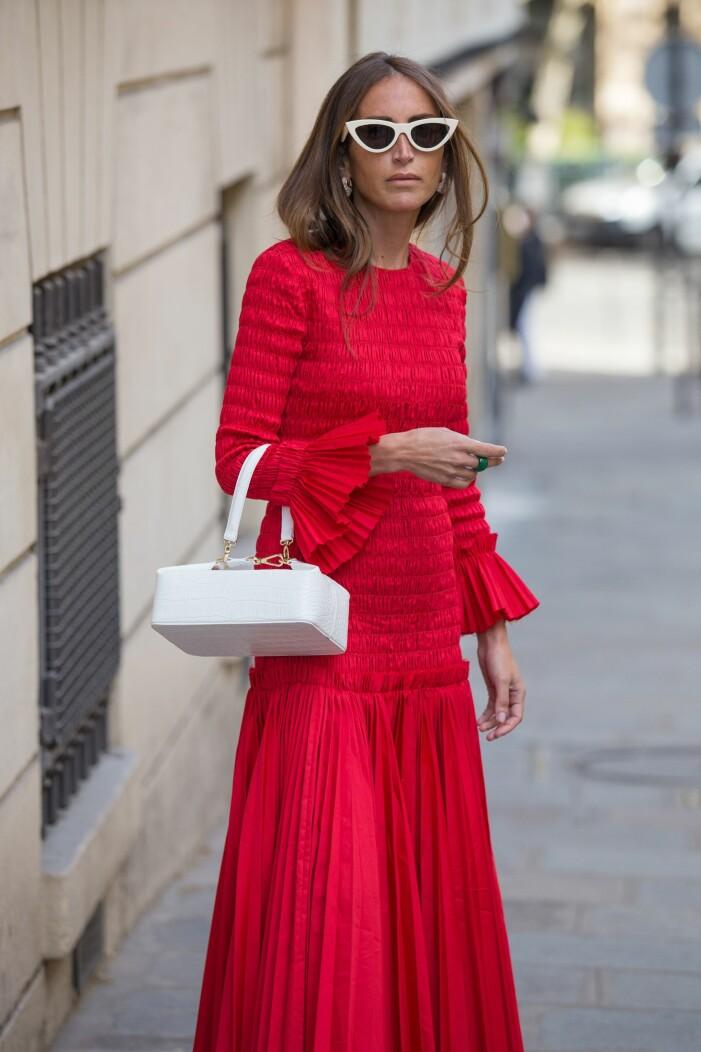 rött mode dam