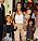 Kim med barnen North, Chicago och Saint.