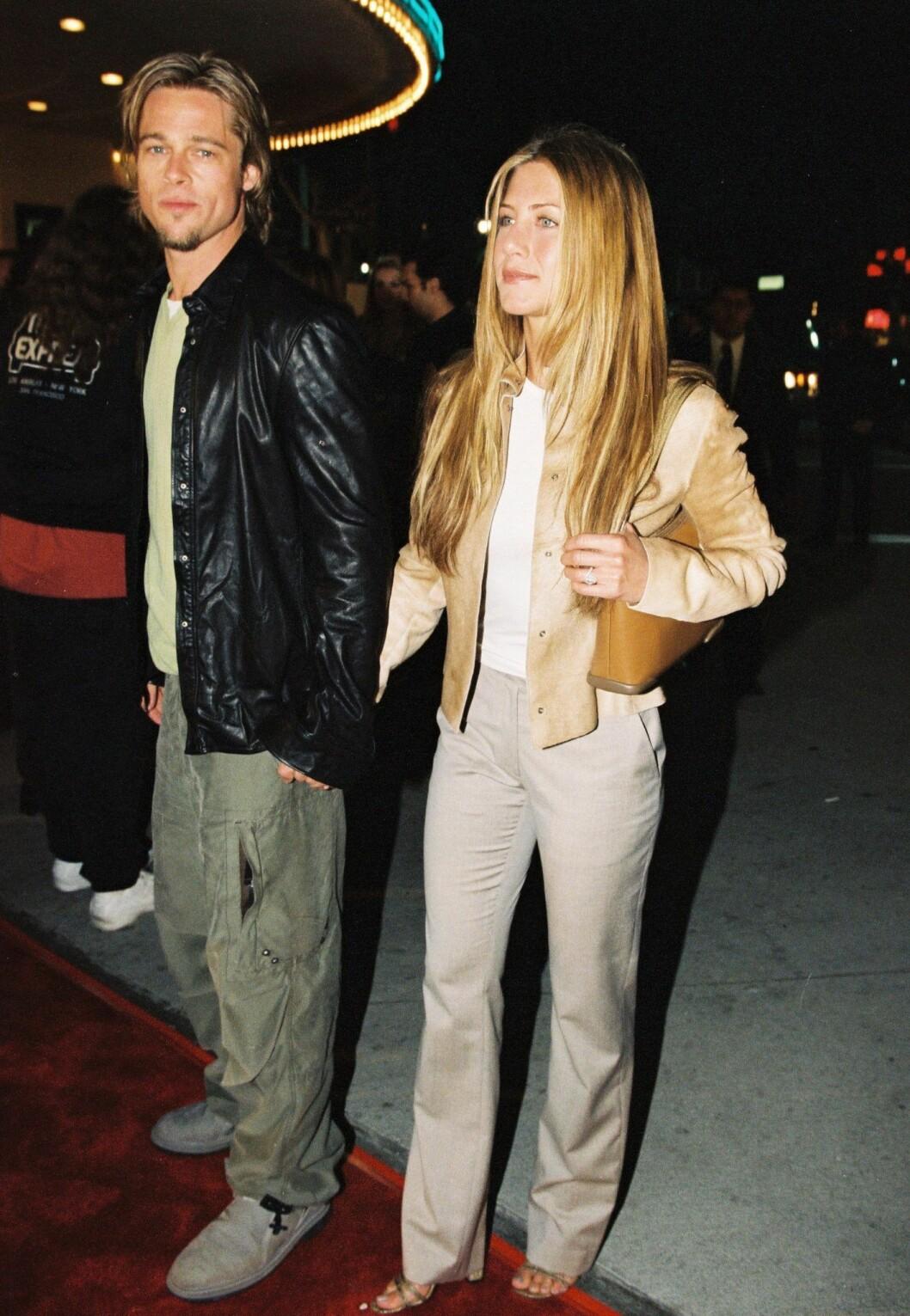 Aniston, Pitt, stil
