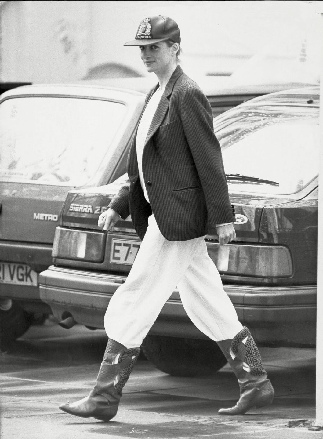 Prinsessan Diana av Wales stil