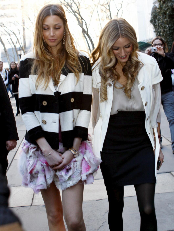 Whitney Port och Olivia Palermo