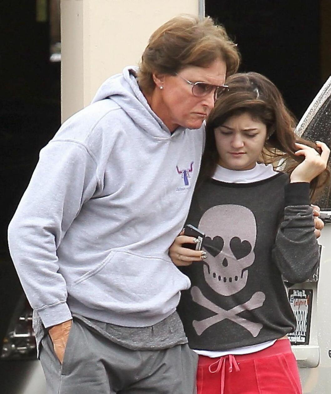 Bruce Jenner och Kylie Jenner