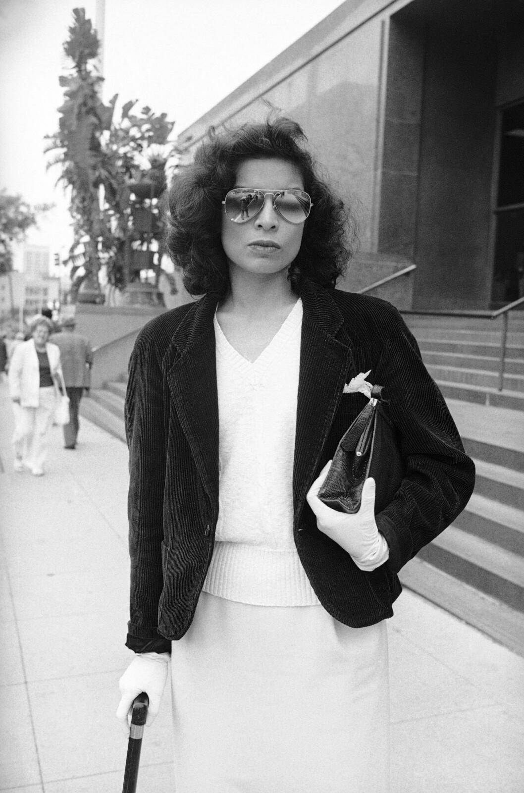 Skådespelaren Bianca Jaggers stil