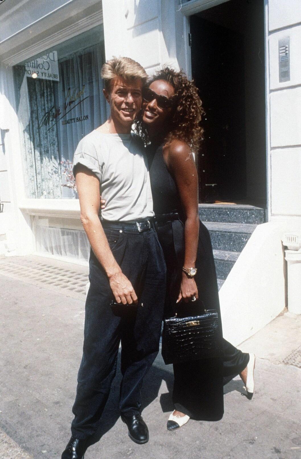 Bowie och Iman 1991