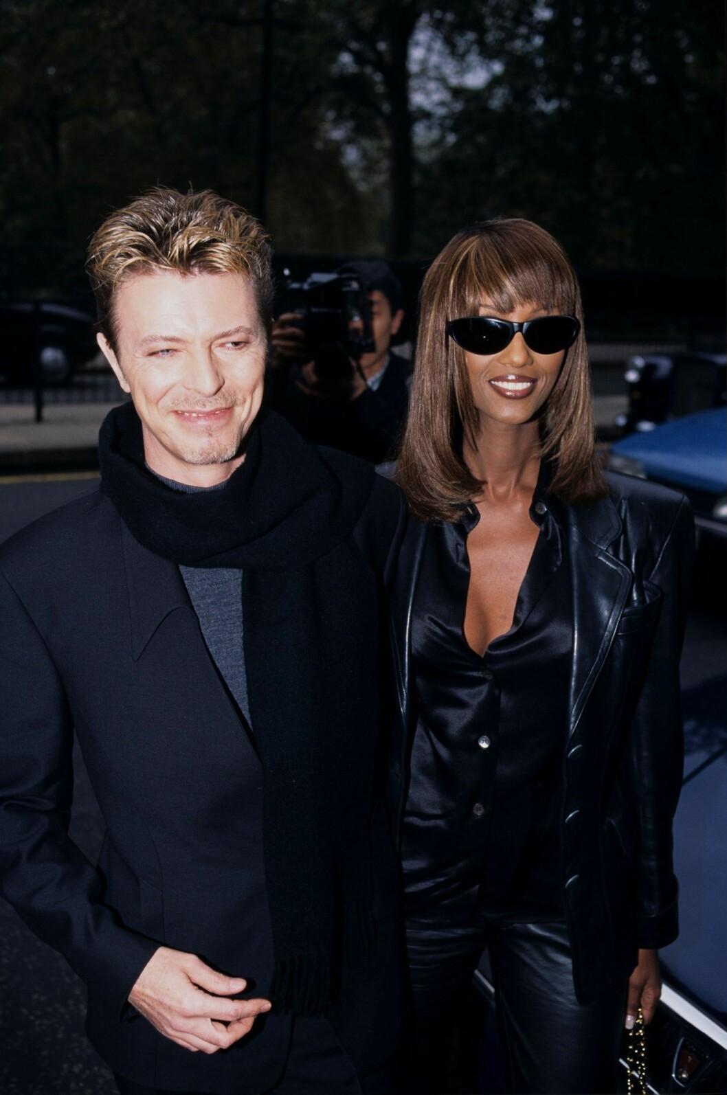 Matrixstil Bowie och Iman