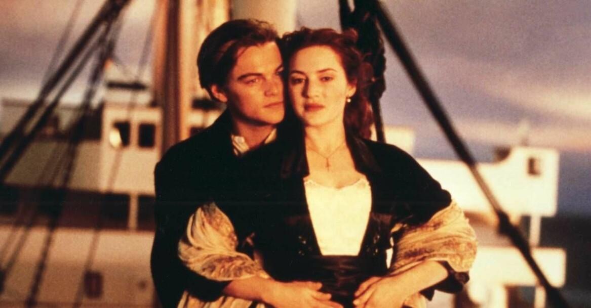 Jack och Rose i Titanic
