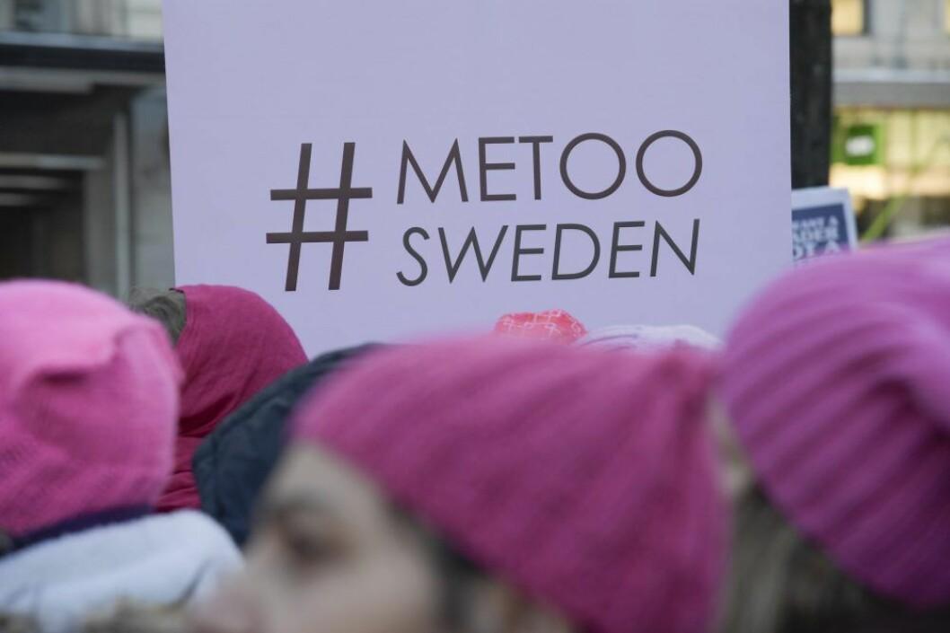 Metoo-rörelsen fick politiska konsekvenser i Sverige.