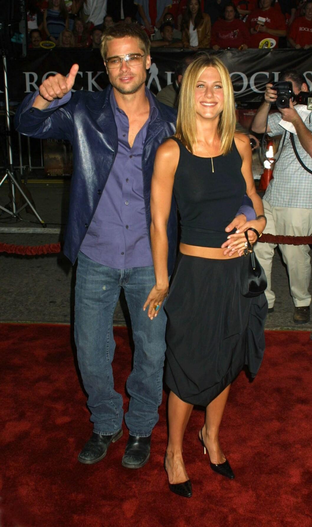 Jennifer Aniston och Brad Pitts stil