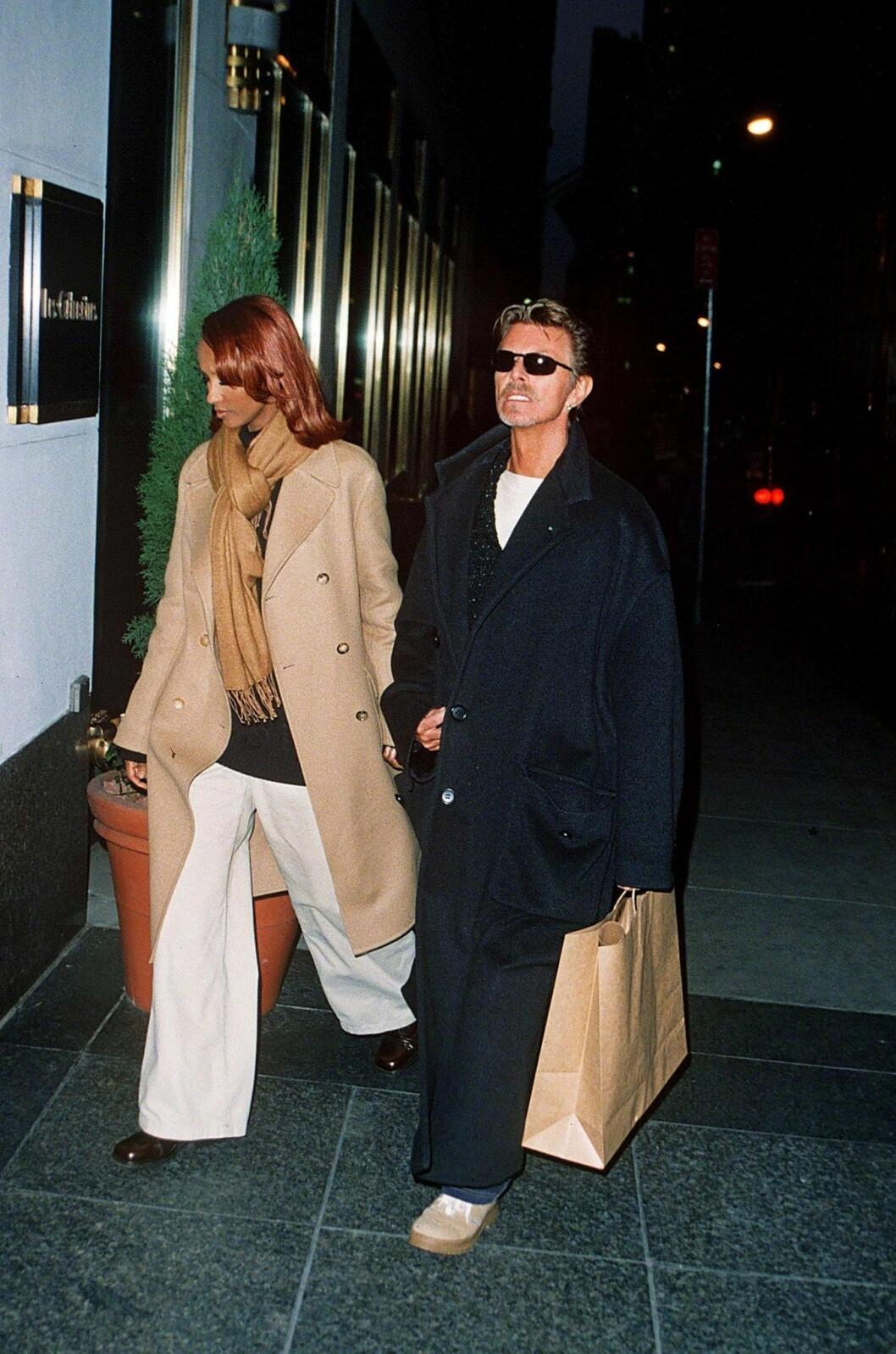 David Bowie och Iman Abdulmajids oförglömliga 90-tals stil