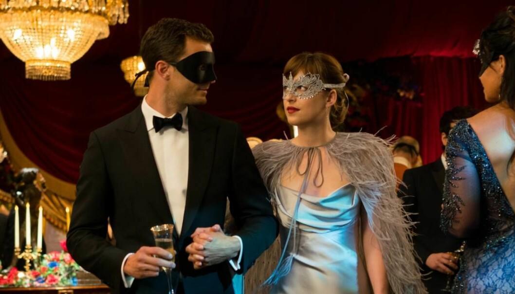 Christian och Ana i Fifty shades of grey