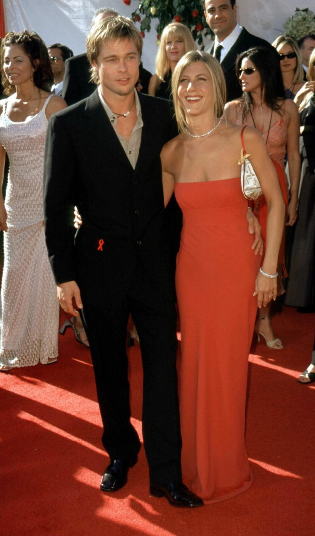 Jennifer Aniston och Brad Pitts bästa stil från 00-talet