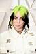 Billie Eilish grönt hår