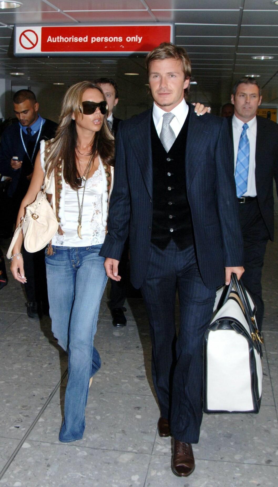 Victoria Beckham & David Beckhams resstil