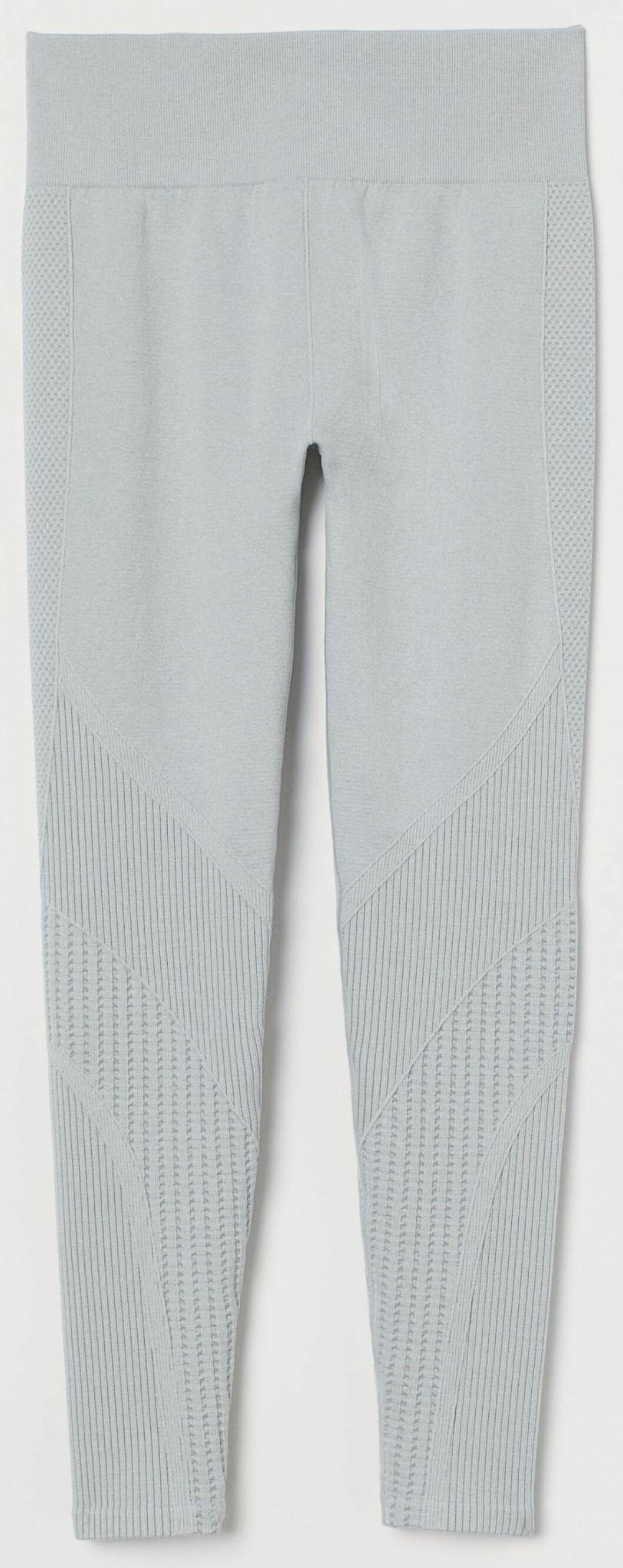 Sömlösa leggings från H&M i grå nyans.