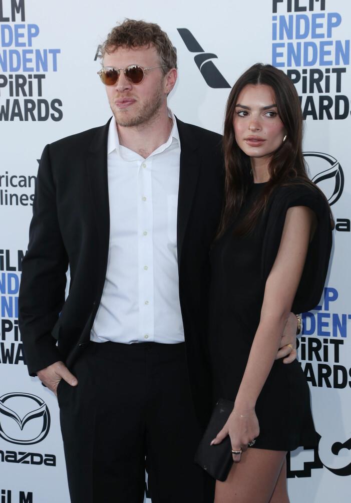 Sebastian Bear-McClard och Emily Ratajkowski