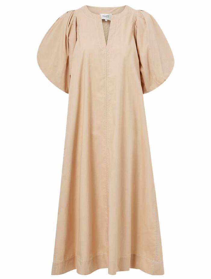 a-linjeformad klänning