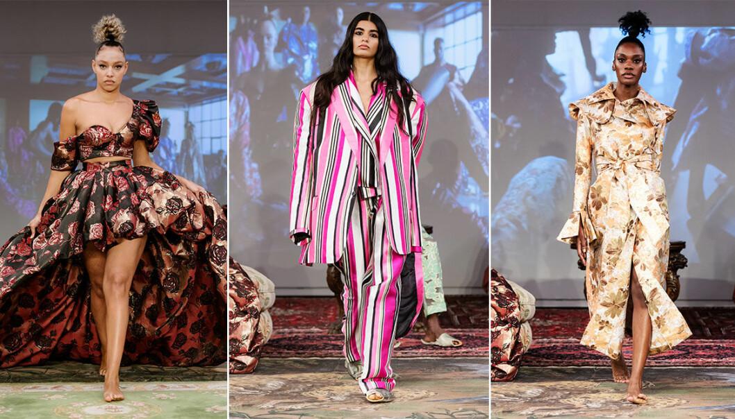 Selam Fessahaye visar upp AW19–kollektionen på Stockholm Fashion Week