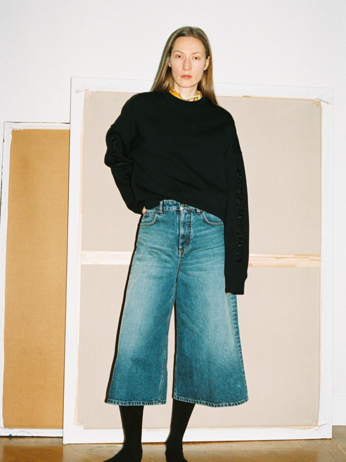 Self Cinema AW21 croppade jeans