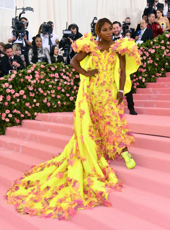 Serena Williams på röda mattan
