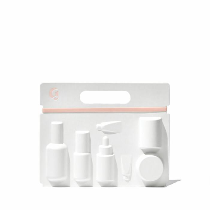 skincare kit glossier