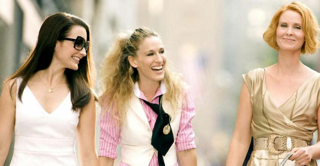 Carrie, Miranda, Charlotte