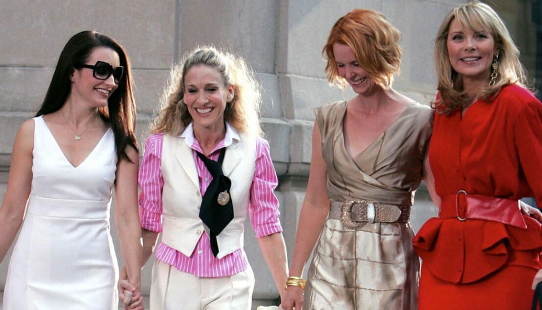 Charlotte, Carrie, Miranda och Samantha