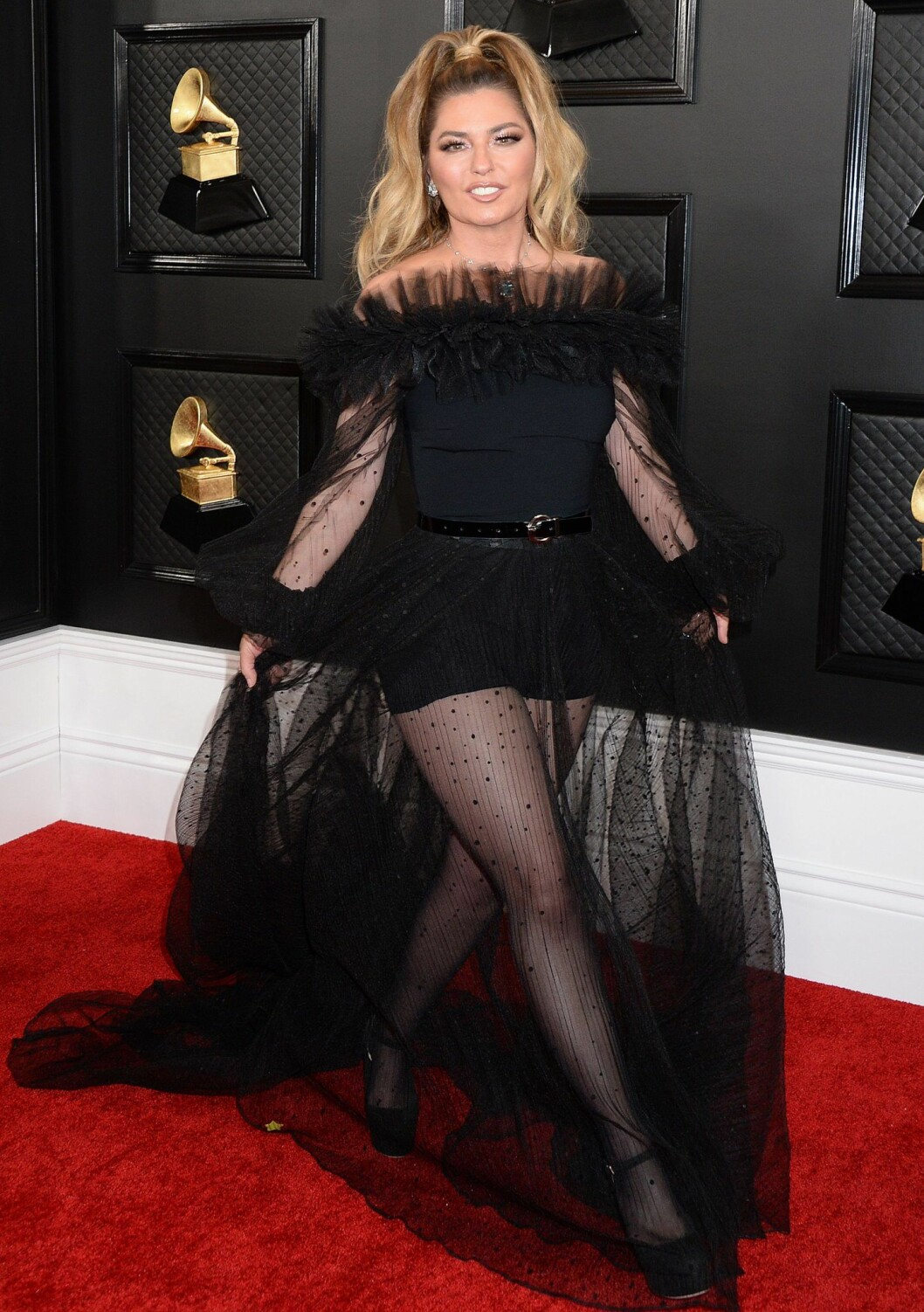 Shania Twain Grammy Awards 2020 röda mattan