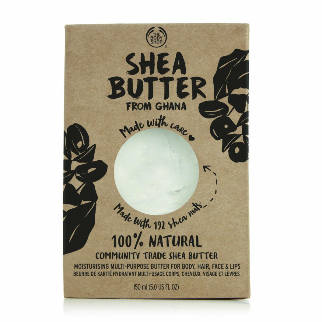 The Body Shops shea butter.
