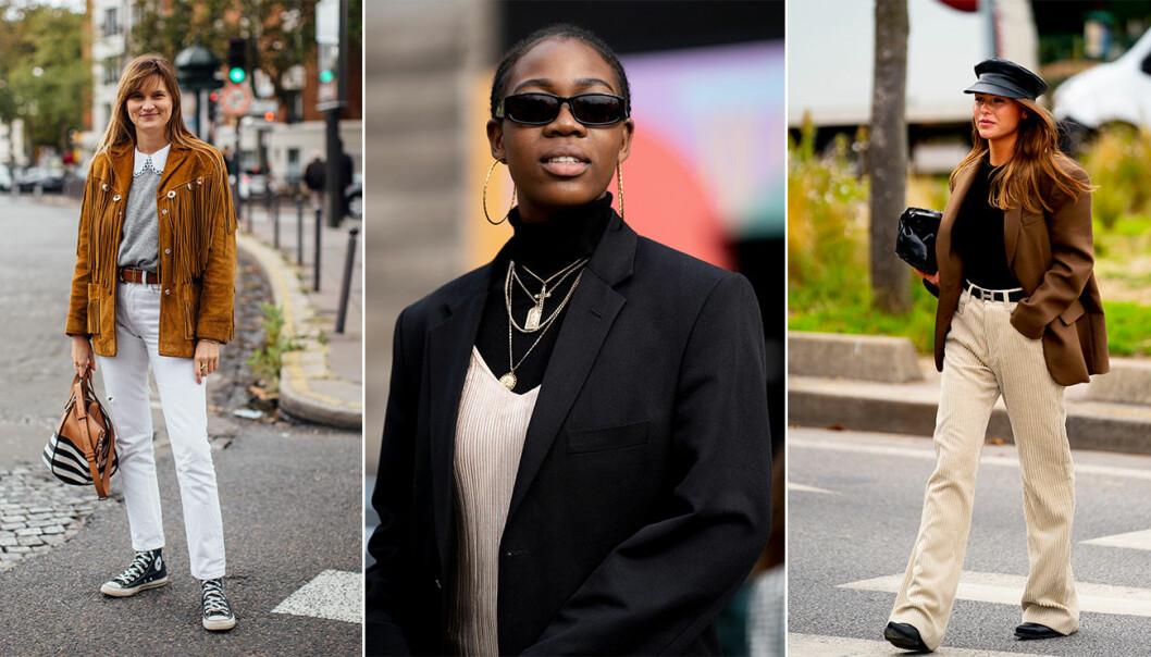 Streetstyle från Paris fashion week.