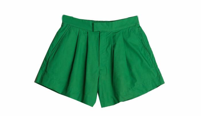 gröna shorts dam