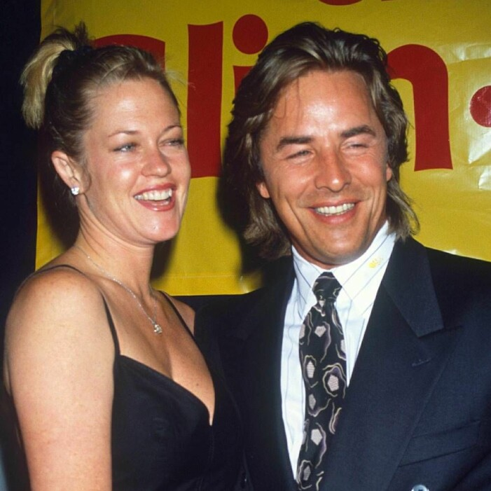 Melanie Griffith och Don Johnson.