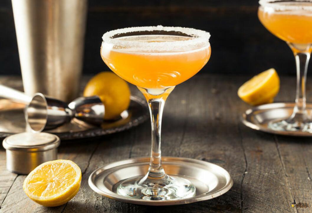 Side car cocktail recept