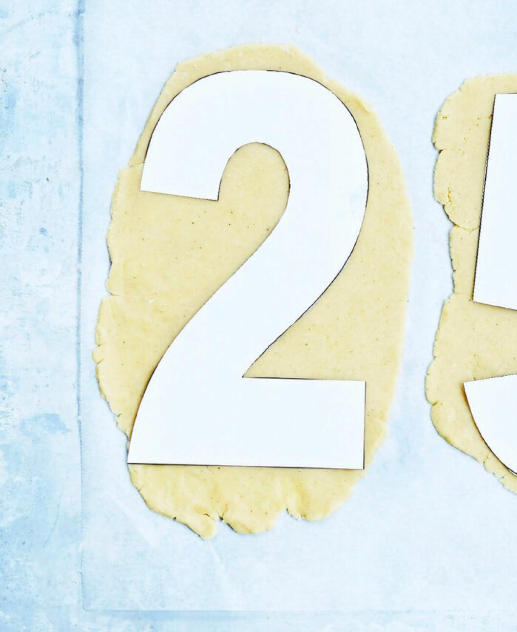 Siffertårta – steg 2!