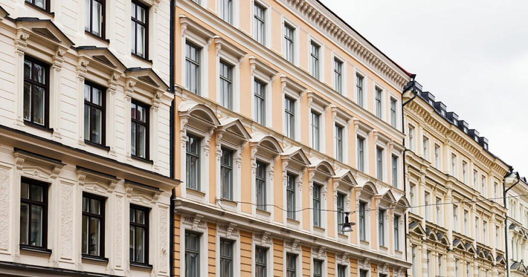 Malin och Sigge Eklund säljer lägenheten i Vasastan.