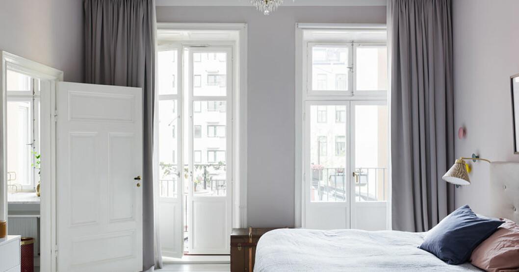 Malin och Sigge Eklunds sovrum.