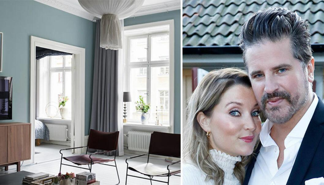 Nu säljer Malin och Sigge sin lägenhet.