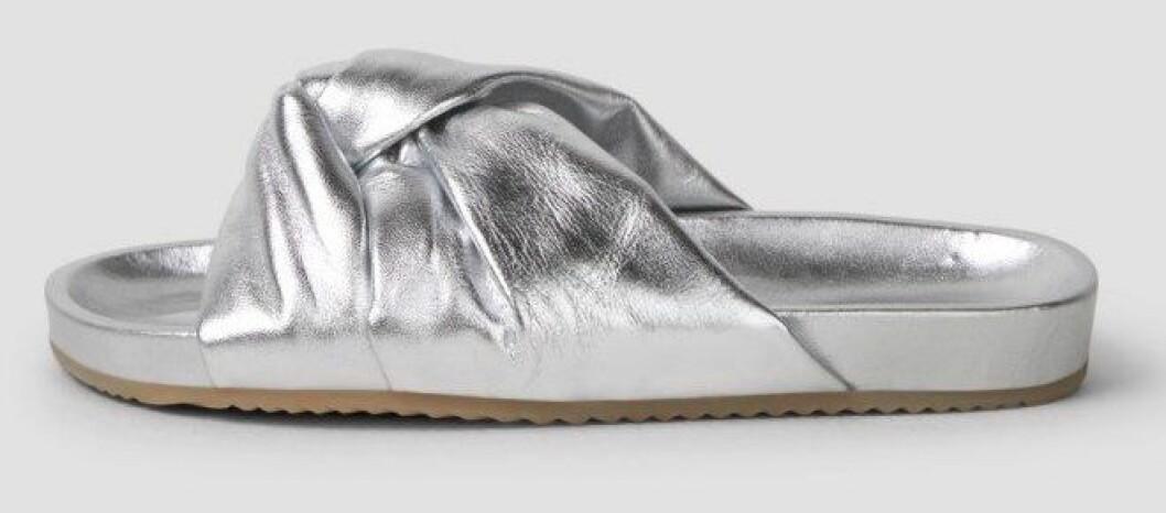 silvrig sandal från Filippa K.