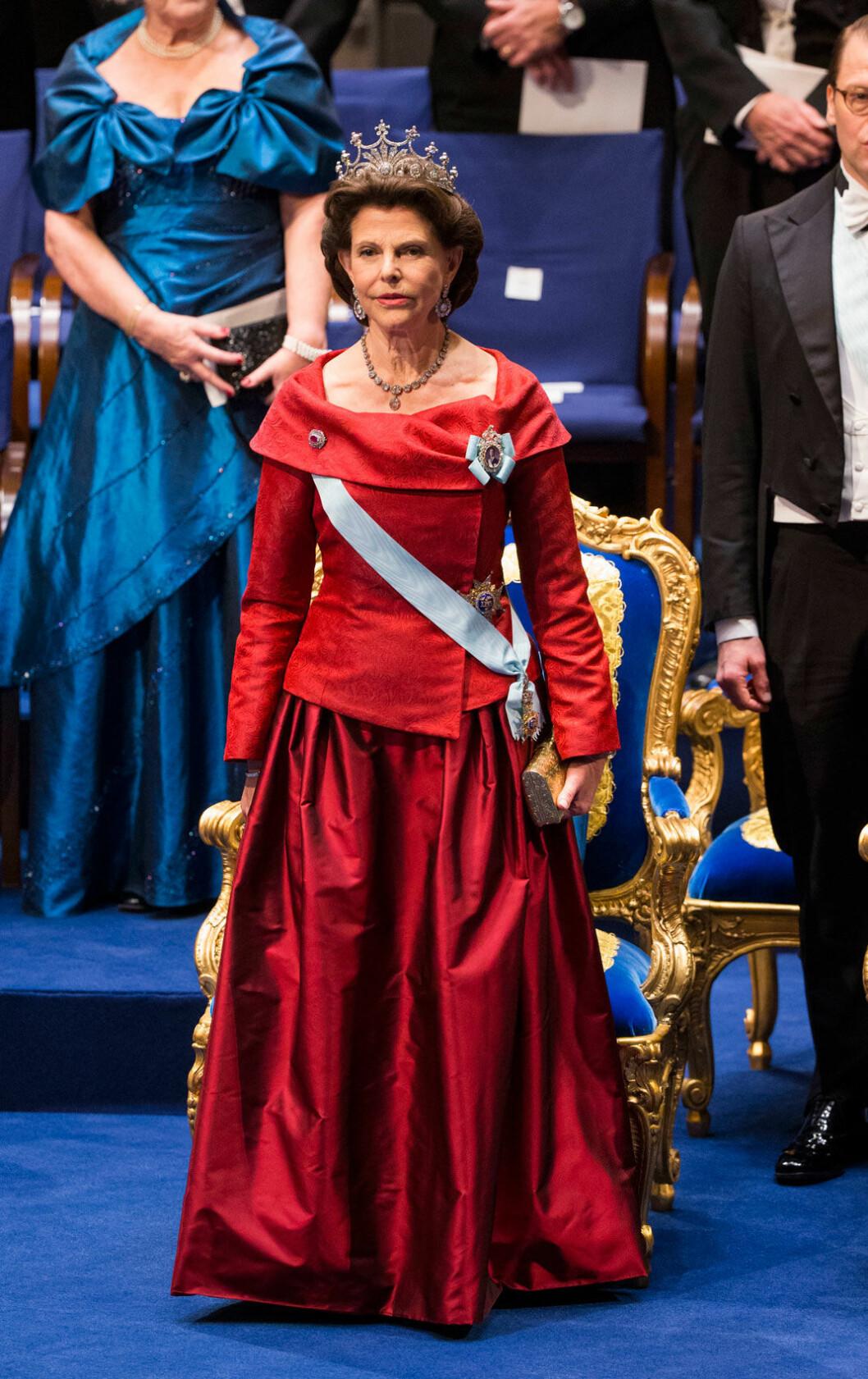Silvia valde rött 2015 igen
