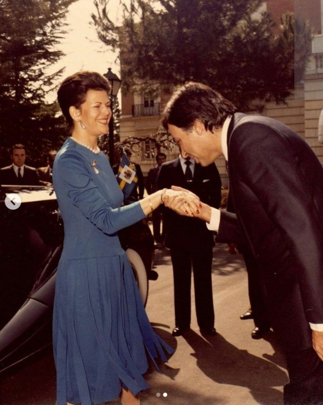 Drottning Silvia 1983.