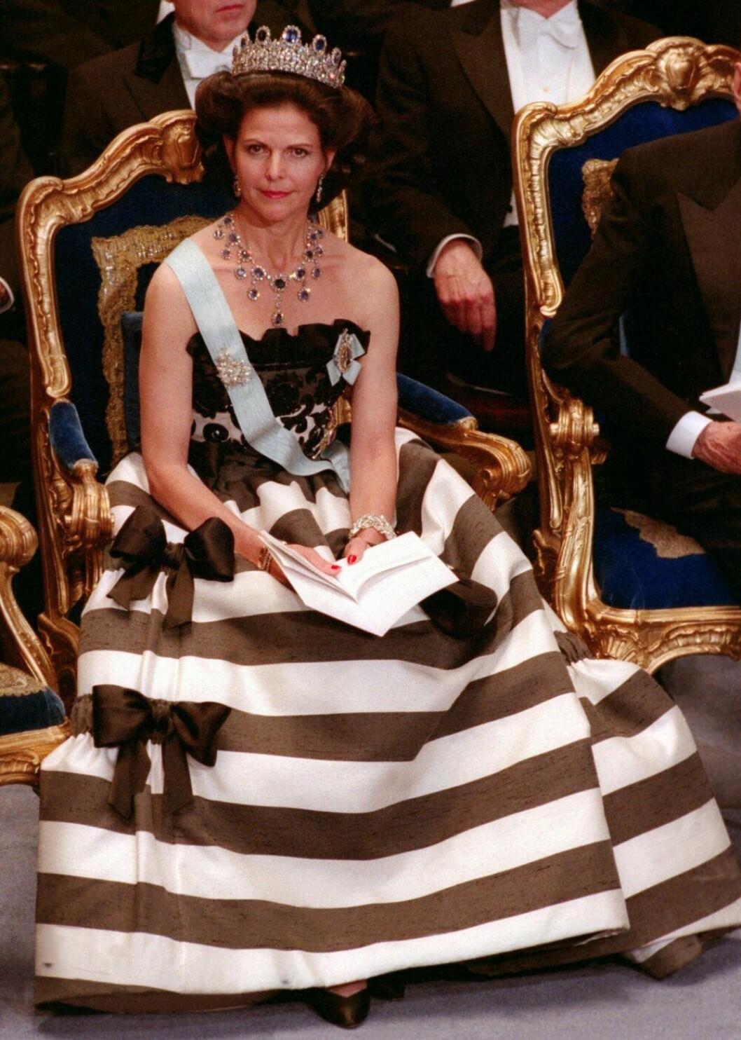 Drottning Silvia på Nobel 1993.